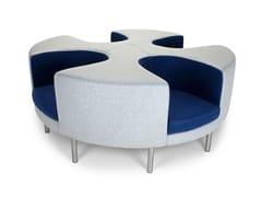 - Round 4 seater sofa OTTO | 4 seater sofa - Adrenalina