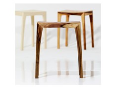 - Contemporary style low wooden stool OTTO2 | Wooden stool - sixay furniture