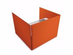 Pannello divisorio fonoassorbente free standing modulare in tessutoOVERSIZE DESK - CAIMI BREVETTI