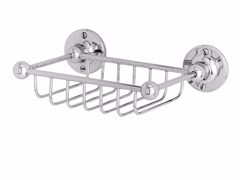 - Wall-mounted metal soap dish for shower OXFORD | Metal soap dish - GENTRY HOME