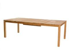 - Extending teak table OXNÖ | Extending table - Skargaarden