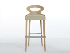 - Counter stool with footrest PADDLE | Counter stool - Potocco