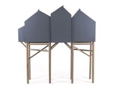- Highboard with doors PALAFITT 4 DOORS - Seletti