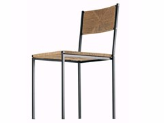 - Stackable straw chair PALUDIS GEMINI - 154 - Alias