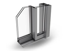 Finestra a taglio termico scorrevole in alluminioPANORAMICO - ALSISTEM
