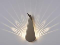 Applique a LED a luce indiretta in alluminioPAON - COMPAGNIE