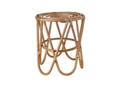 - Rattan stool PAPERCLIP | Stool - Pols Potten