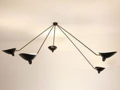 - Lampada da soffitto orientabile in metallo PAR5B | Lampada da soffitto - Editions Serge Mouille