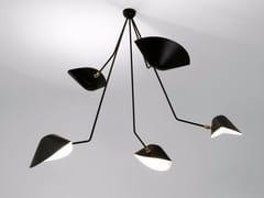 - Lampada da soffitto orientabile in metallo PAR5BC | Lampada da soffitto - Editions Serge Mouille
