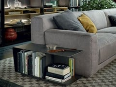 - Low rectangular plate coffee table for living room PARIS-SEOUL | Rectangular coffee table - Poliform