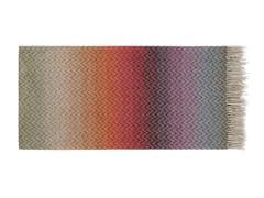 Plaid con motivi grafici multicolor in lanaPASCAL - MISSONIHOME