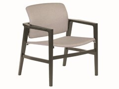 - Fabric chair with armrests PATIO | Chair with armrests - Potocco