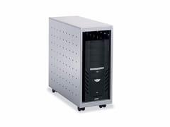 Supporto per CPU e laptop in acciaio con ruotePC BOX - DIEFFEBI