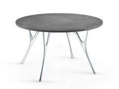 - Round cement table PEGASO | Cement table - Caimi Brevetti