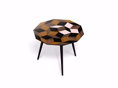 - Beech wood and HPL coffee table PENROSE GIANT SPRING WOOD S - Bazartherapy