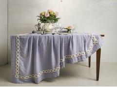 - Linen tablecloth PEONIE | Tablecloth - LA FABBRICA DEL LINO by Bergianti & Pagliani