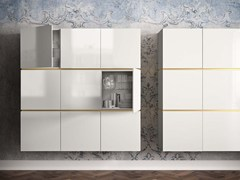 - Lacquered suspended highboard PEOPLE P204 - PIANCA