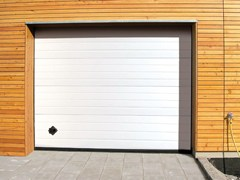 Portone da garage in acciaio zincatoPERSUS - BREDA SISTEMI INDUSTRIALI