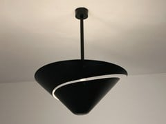 - Metal ceiling lamp PETIT ESCARGOT - Editions Serge Mouille