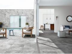 Pavimento/rivestimento in gres porcellanato effetto pietraPETRAE - CERAMICHE REFIN