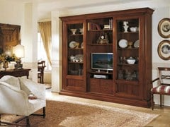 - Solid wood TV wall system PETRARCA - Arvestyle