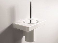 - Wall-mounted toilet brush PIANO | Toilet brush - Hidra Ceramica