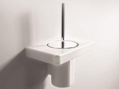 - Wall-mounted toilet brush PIANO | Toilet brush - Hidra Ceramica