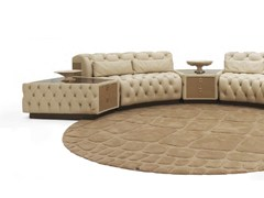 - Tavolino basso in pelle con vano contenitore da salotto PICCADILLY CIRCUS | Tavolino - Formitalia Group