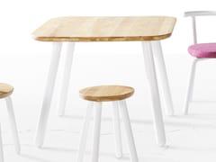 - Tavolo rettangolare in legno PICKET | Tavolo rettangolare - Derlot Editions