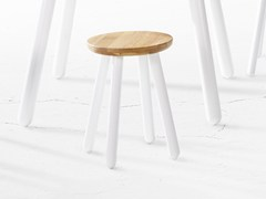 - Wooden stool PICKET | Wooden stool - Derlot Editions
