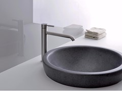 - Countertop single handle stainless steel washbasin mixer PIX | Washbasin mixer - CRISTINA Rubinetterie