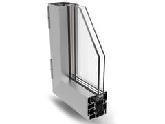 Finestra a battente a taglio termico in alluminioPLANET 72 PLUS - ALSISTEM