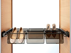 Accessori per cabine armadio in alluminioPLUS + VASCHETTA - SERVETTO