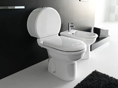 - Close coupled ceramic toilet PLUVIA | Close coupled toilet - Hidra Ceramica