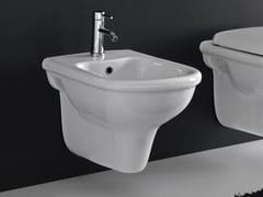 - Ceramic bidet PLUVIA | Wall-hung bidet - Hidra Ceramica
