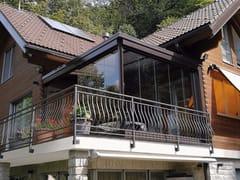 Vetrata scorrevole in alluminio e vetroPLv Slide - FRUBAU