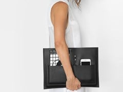 CUSTODIA PER LAPTOP IN PELLE POCHETTE - THE ATELIER YUL