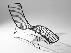 Chaise longue in acciaio verniciato a polverePOD | Chaise longue - STUDIO STIRLING