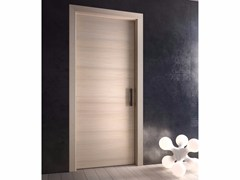 - Hinged wooden door POEMA | Wooden door - GAROFOLI