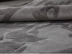 - Patterned handmade custom rug POMPADOUR VINTAGE PEARL - EDITION BOUGAINVILLE