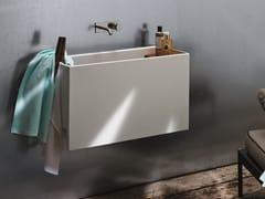 Lavabo con porta asciugamaniPOOL - AZZURRA SANITARI IN CERAMICA
