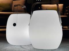 Lampada da terra a LED in policarbonatoPOP LAMP | Lampada da terra - TALENTI