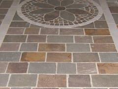 Pavimento/rivestimento in pietra naturalePORFIDO DEL TRENTINO - LONGOBARDI PORFIDI