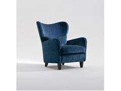 - Fabric armchair with armrests PORTOFINO | Fabric armchair - Marac
