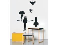 Adesivo da parete in vinile per bambiniPOTATO QUEEN 1 - MOUSTACHE