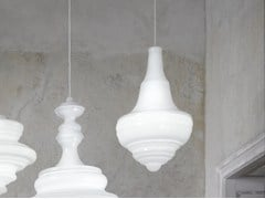 - Blown glass pendant lamp PRAGUE ESTATES THEATRE - Lasvit
