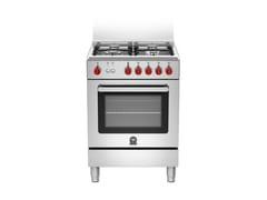 - Cucina a libera installazione professionale PRIMA - RI6 4C 61 C X - Bertazzoni
