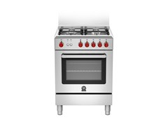- Cucina a libera installazione professionale PRIMA - RI6 4C 71 C X - Bertazzoni