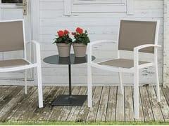 Sedia da giardino in Batyline® con braccioliPRIME - ICARRARO ITALIAN MAKERS
