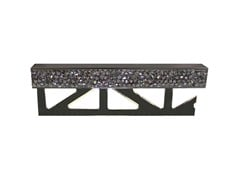 - Decorative metal edge profile with Swarovski® Crystals for walls PRO-PART LI CRYSTAL ROCK SW - Butech